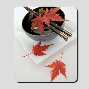 Japanese noodle bowl Mousepad