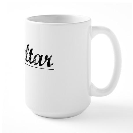 Gibraltar, Vintage Large Mug