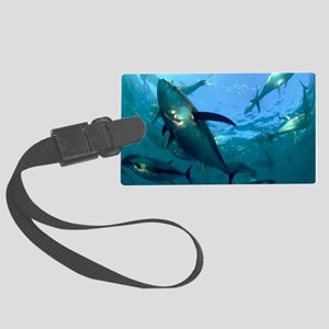 Yellowfin tuna Large Luggage Tag