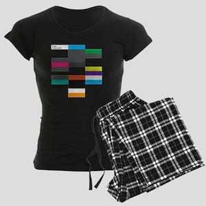 Solarstone 'Pure' Cover Art Women's Dark Pajamas