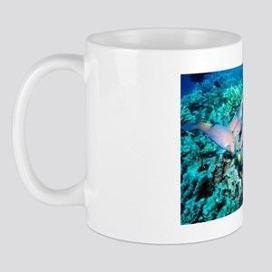 Yellowsaddle goatfish Mug