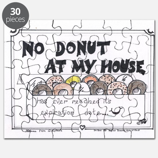 No Donut At My House Puzzle