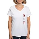 Sak'art'velo Women's V-Neck T-Shirt