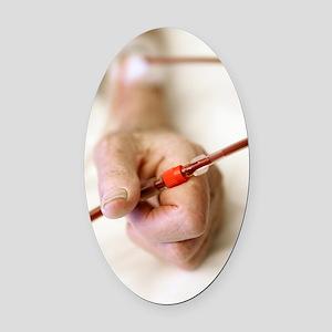 Kidney dialysis Oval Car Magnet