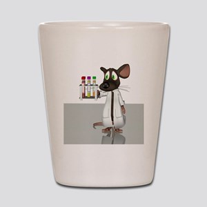 Laboratory mouse, conceptual artwork Shot Glass