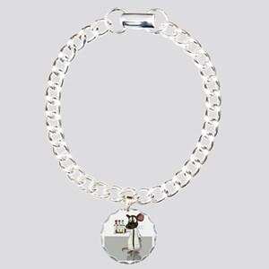 Laboratory mouse, concep Charm Bracelet, One Charm