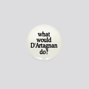 D'Artagnan Mini Button