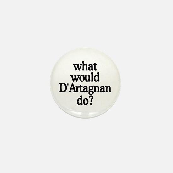 D'Artagnan Mini Button
