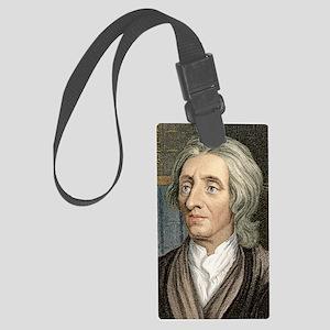 John Locke, English philosopher Large Luggage Tag