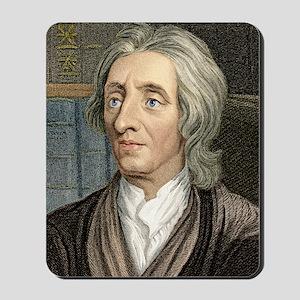 John Locke, English philosopher Mousepad