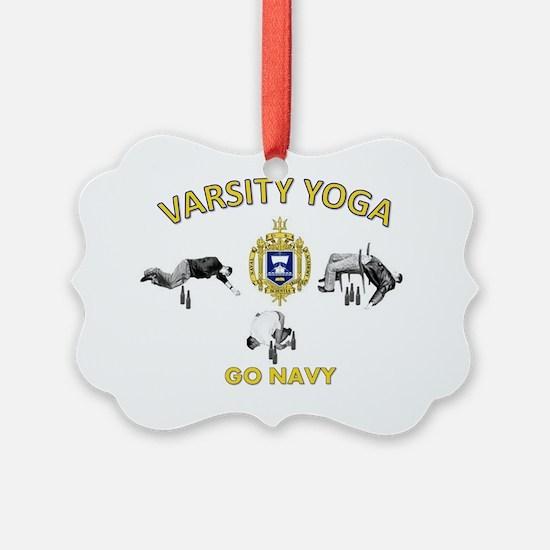 USNA Varsity Yoga Ornament