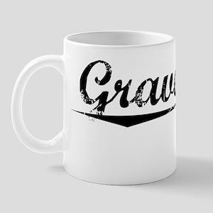 Gravel Pit, Vintage Mug
