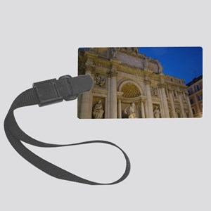 Rome, Italy Large Luggage Tag