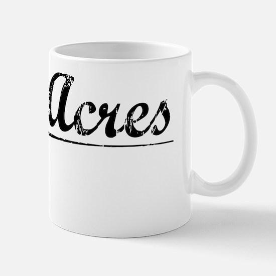 Green Acres, Vintage Mug