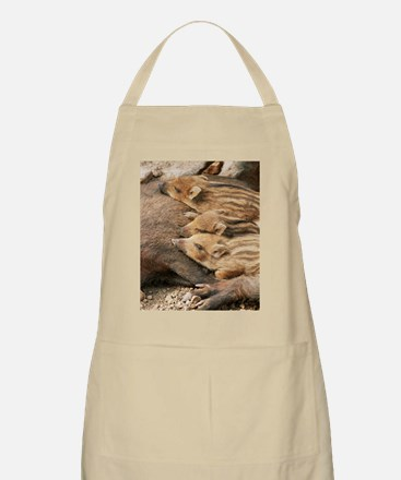Young wild boar Apron