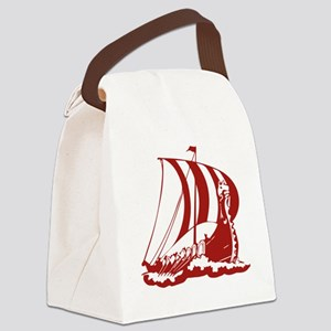 norseShip1A Canvas Lunch Bag