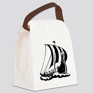 norseShip1C Canvas Lunch Bag