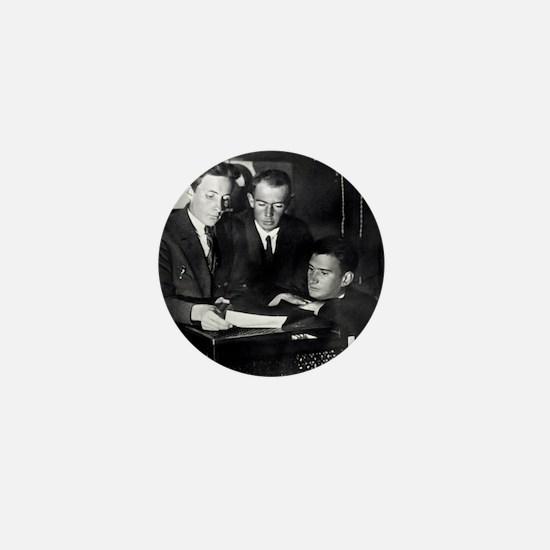 Kurchatov and colleagues, Leningrad, 1 Mini Button