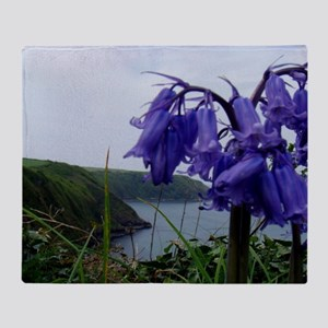 Bluebells Throw Blanket