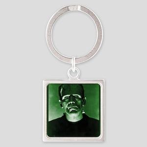 Frankenstein Square Keychain