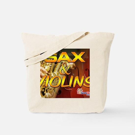 Sax and Violins Calendar Cover Tote Bag