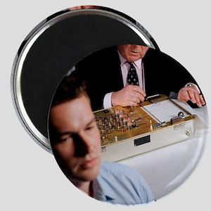 Lie detector test Magnet