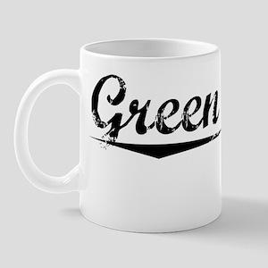 Green Lake, Vintage Mug