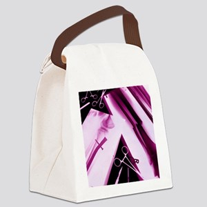 Leg fracture, X-ray Canvas Lunch Bag