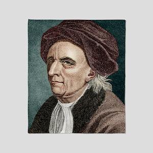 Leonhard Euler, Swiss mathematician Throw Blanket