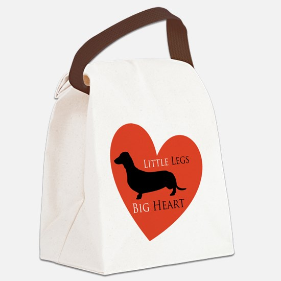 Dachshund Canvas Lunch Bag