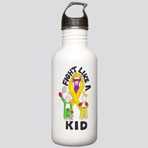 fight like a kid Stainless Water Bottle 1.0L