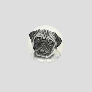 Pug Mini Button