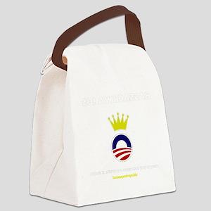 BASSACKWARDS Canvas Lunch Bag