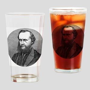 Lord Kelvin, Scottish physicist Drinking Glass