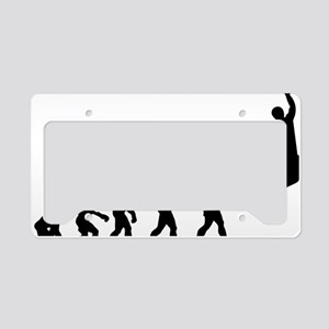 Basketball Evolution Jump License Plate Holder