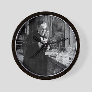 Louis Pasteur Wall Clock
