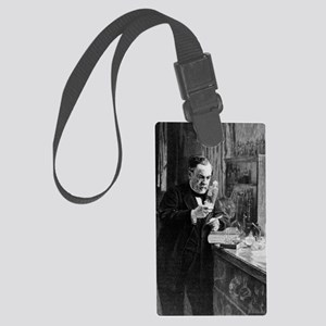 Louis Pasteur Large Luggage Tag