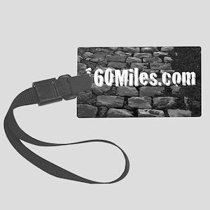 Main 160Miles.com Logo Large Luggage Tag