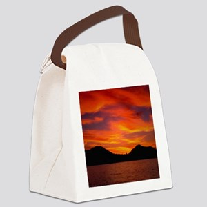 Cabo Sunset Canvas Lunch Bag