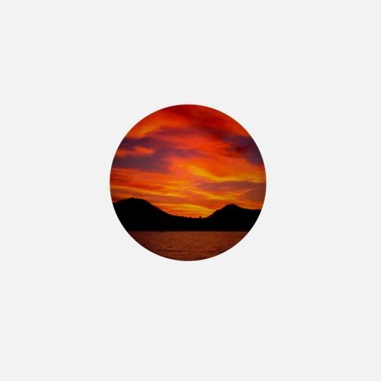 Cabo Sunset Mini Button
