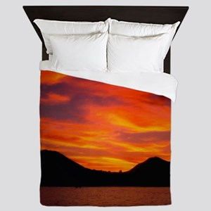 Cabo Sunset Queen Duvet
