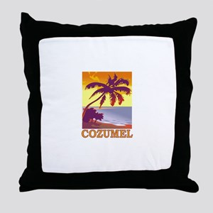 Cozumel, Mexico Throw Pillow