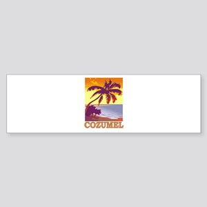 Cozumel, Mexico Bumper Sticker