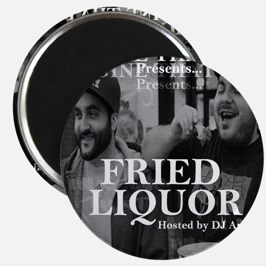 Fried Liquor Cover Magnet