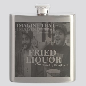Fried Liquor Cover Flask