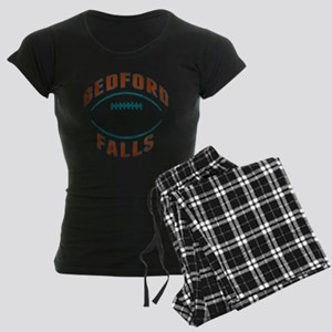 Bedford Falls Football Women's Dark Pajamas