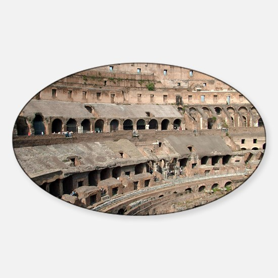 Il Colosseo Sticker (Oval)