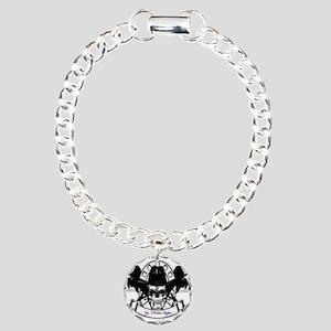 Pancreatic Cancer Posse Charm Bracelet, One Charm