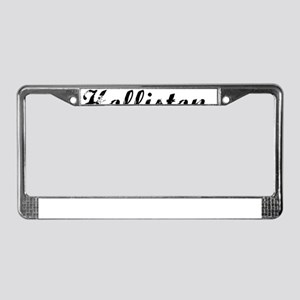 Holliston, Vintage License Plate Frame