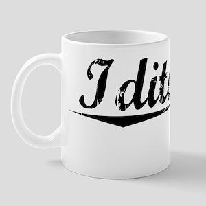 Iditarod, Vintage Mug
